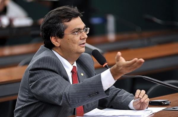 Flávio Dino diz que a posse de suplentes em período de recesso é inútil  - Crédito: Foto: Leonardo Prado/Agência Câmara
