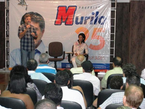 Murilo Zauith e Dinaci abrirem encontro da coligação Uunião por Dourados Foto – Fábio Dorta    -