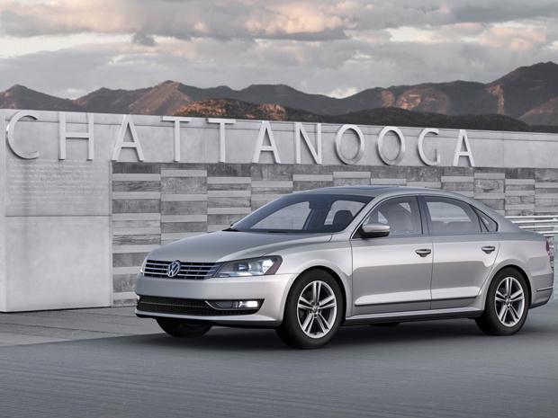 VW Passat para os EUA - Crédito: Foto: Divulgação