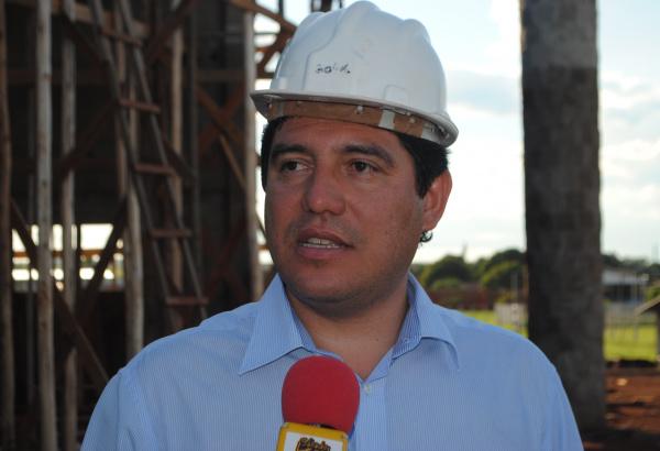 Celso Vargas mencionando sobre o Programa   - Crédito: Foto : Divulgação