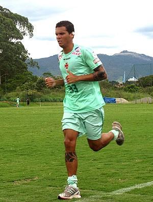Ramon no treino físico em Atibaia  - Crédito: Foto: Fred Huber / GLOBOESPORTE.COM