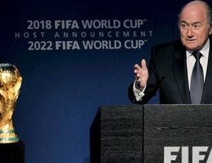 Blatter diz que Índia pode sediar uma Copa em breve - Crédito: Foto: Reprodução / Site Oficial da FIFA