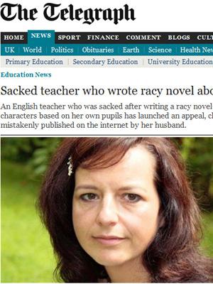 A professora britânica Leonora Rustamova em foto divulgada pela imprensa local. - Crédito: Foto: Reprodução
