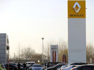 Concessionária Renault em Pequim, na China  - Crédito: Foto: AFP