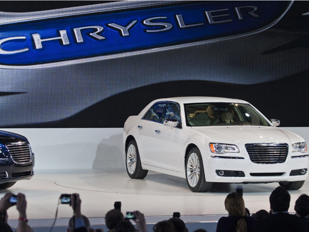 Novo Chrysler 300 C é apresentado no Salão de Detroit - Crédito: Foto: AP