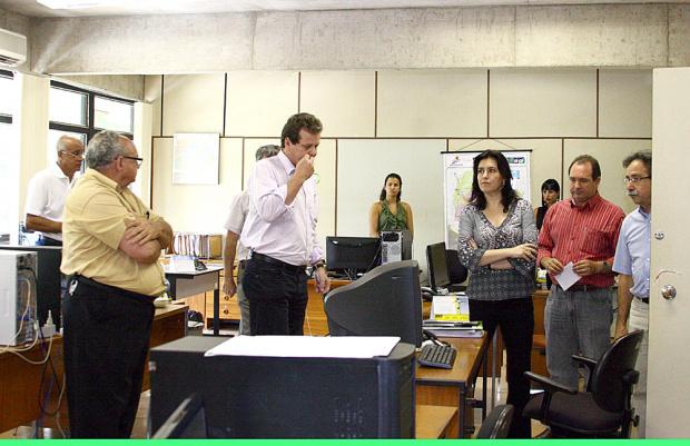 """Simone visita secretarias consideradas """"pulmão da administração"""" estadual  - Crédito: Foto: Edemir Rodrigues"""