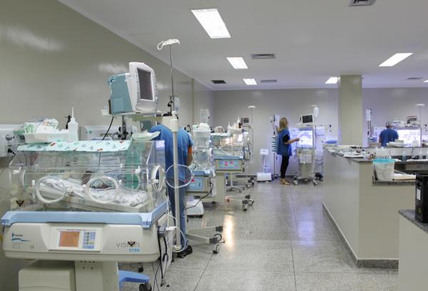 No último dia do ano, hospital recebeu mulheres e recém nascidos do antigo HM   - Crédito: Foto: Divulgação