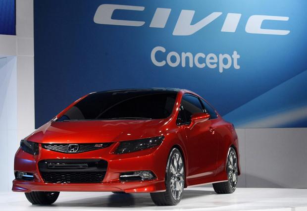 Conceito da nova geração do Honda Civic sedã e apresentado na versão Si - Crédito: Foto: Reuters