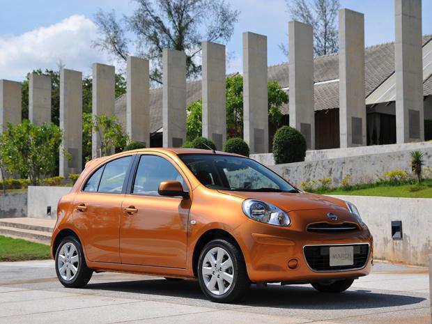 Nissan March é a grande aposta da montadora - Crédito: Foto: Divulgação