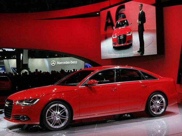Audi A6 ganhou pequenas modificações estéticas, mas vem com mais tecnologia - Crédito: Foto: Reuters