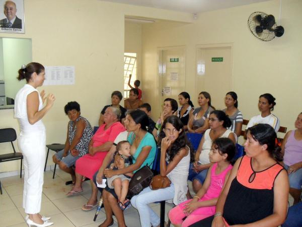Carro chefe da unidade móvel ginecológica são as ações educativas   - Crédito: Foto: Divulgação