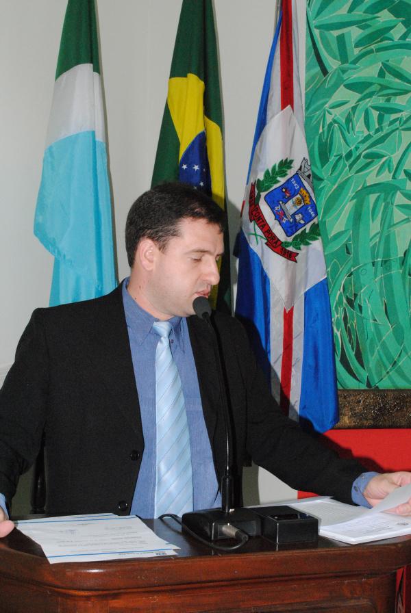 Ludimar Novaes, presidente da Comissão de Constituição e Justiça   - Crédito: Foto: Lécio Aguileira