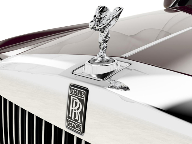Rolls-Royce Phantom Spirit of Ecstasy Centenary Collection - Crédito: Foto: Divulgação