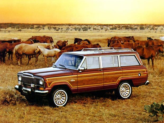 Jeep Wagoneer foi fabricado de 1963 até 1991 - Crédito: Foto: Divulgação