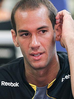Rodrigo Souto no treino do São Paulo nesta terça-feira - Crédito: Foto: Lucas Uebel / VIPCOMM