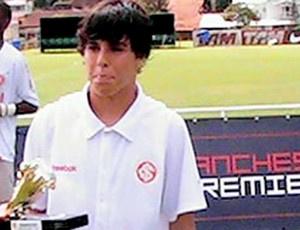Andrigo, jogador do Inter - Crédito: Foto: Divulgação/site oficial