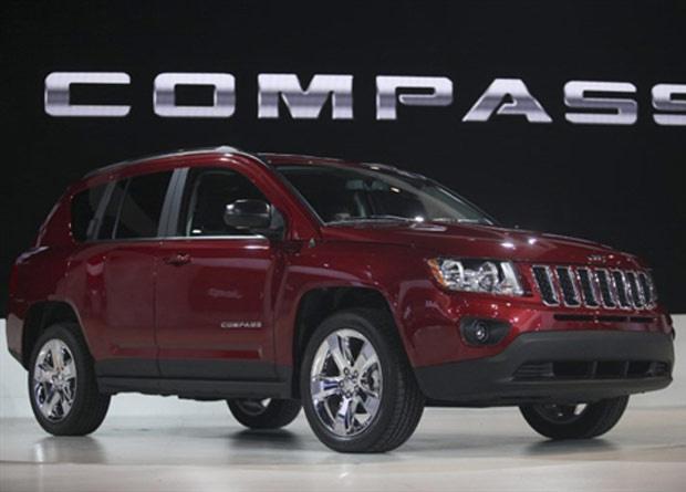 Jeep Compass está com visual mais sofisticado - Crédito: Foto: Geoff Robins/AFP
