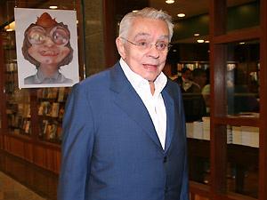 O humorista Chico Anysio - Crédito: Foto: Léo Lemos/TV Globo