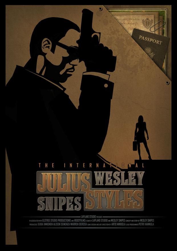 Pôster do game \'Julius Styles: The International\'. - Crédito: Foto: Divulgação