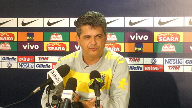 Ney Franco rasgou elogios à maturidade do grupo sub-20 - Crédito: Foto: Victor Canedo / Globoesporte.com