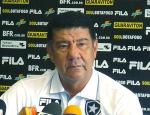 Joel Santana espera mais reforços no Botafogo  - Crédito: Foto: Gustavo Rotstein / GLOBOESPORTE.COM