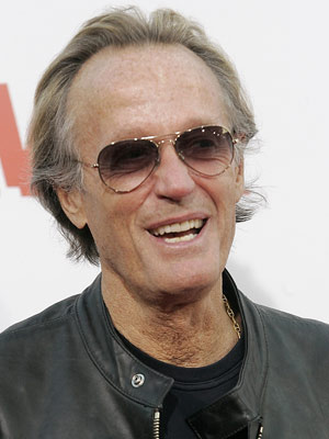 O ator Peter Fonda - Crédito: Foto: AP