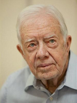 Carter é observador no processo - Crédito: Foto: AFP