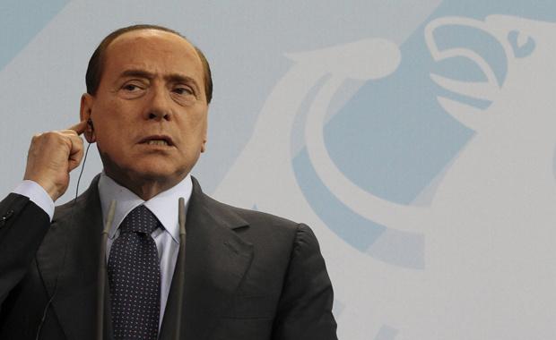O premiê da Itália, Silvio Berlusconi, dá entrevista nesta quarta-feira - Crédito: Foto: Reuters