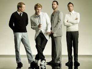 A banda americana Backstreet Boys: AJ é o terceiro da esquerda para a direita.  - Crédito: Foto: Divulgação/Myspace do Artista