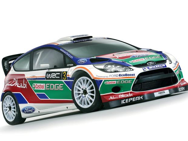 New Fiesta RS WRC - Crédito: Foto: Divulgação