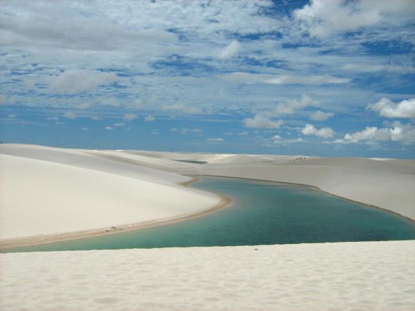 Dunas são os principais atrativos do Parque Nacional  - Crédito: Foto: Divulgação
