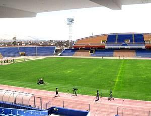 Estádio Jorge Basadre vai receber a Seleção sub-20 - Crédito: Márcio Iannaca / GLOBOESPORTE.COM