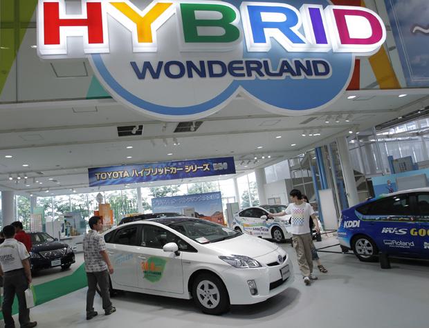 Toyota Prius é o híbrido mais vendido do mundo - Crédito: Foto: AP