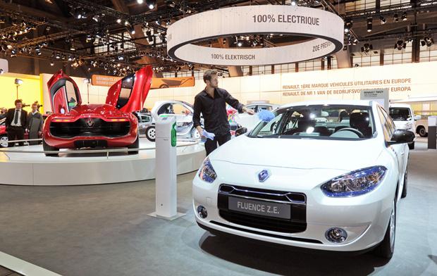 Renault Fluence - Crédito: Foto: AP