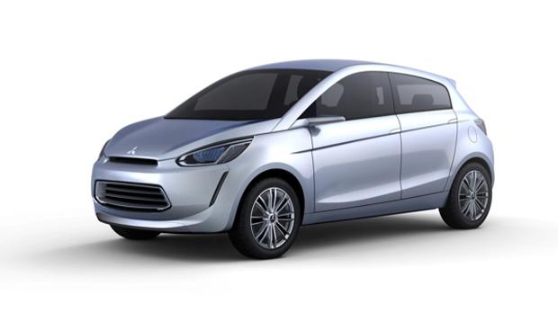 Mitsubishi mostra protótipo do Concept Global Small - Crédito: Foto: Divulgação;