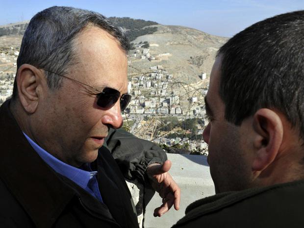 O ministro da Defesa de Israel, Ehud Barak - Crédito: Foto: AP