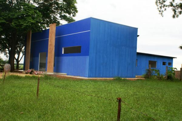 Unidade Básica de Saúde reformada no distrito de São José, em Vicentina  - Crédito: Fotos: Sandra Lima