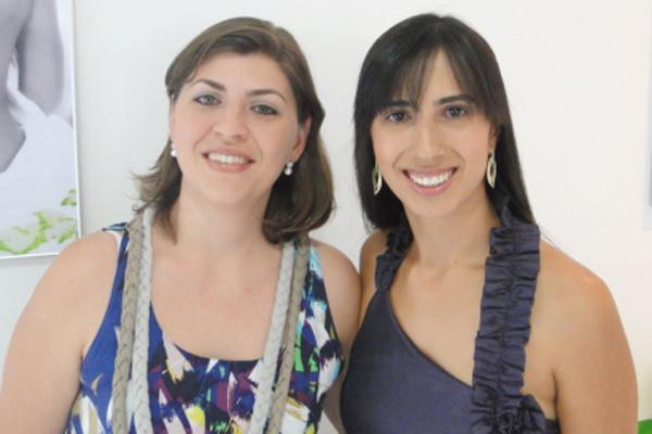 As sócias da franquia D\'pil, Maurem Franceschini Matos e Maria Luna Ulrich -