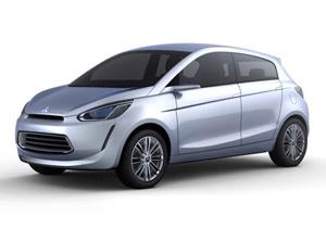 Mitsubishi divulgou esboço do Concept Global Small, o compacto global da marca - Crédito: Foto: Divulgação