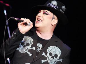 O cantor inglês Boy George - Crédito: Foto: Daigo Oliva/G1