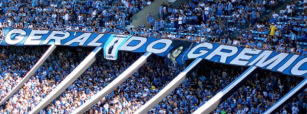 Grêmio joga em casa nesta noite de sexta-feira - Crédito: Foto: Eduardo Cecconi / Globoesporte.com