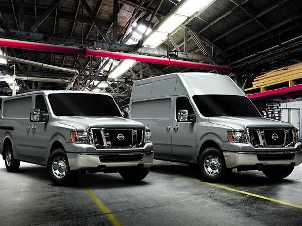 Nissan NV é a aposta da Nissan no segmento comercial dos EUA - Crédito: Foto: Divulgação