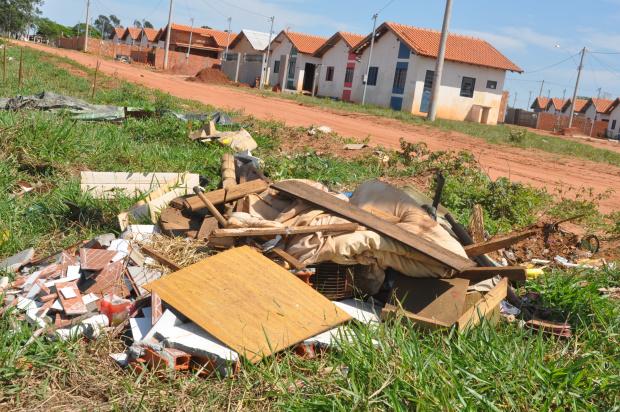 Terrenos sujos provocam sérios transtornos além de servir de criatório da dengue  - Crédito: Foto : Felipe Schinaider