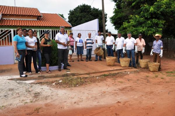 O objetivo do mutirão é mobilizar e conscientizar a população  - Crédito: Foto: Wilson Amaral