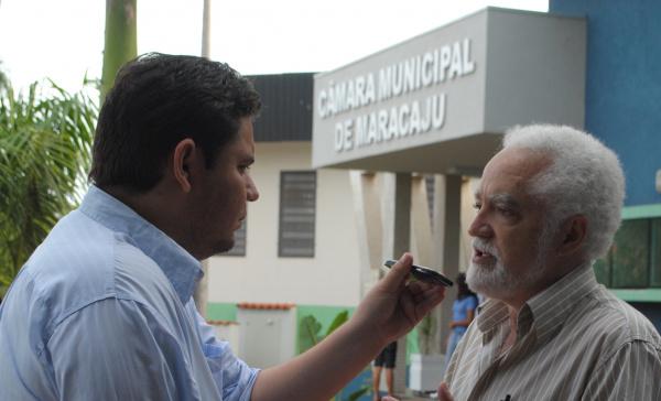 Secretário de Governo, e vice-prefeito de Maracaju Alberto Kuendig  - Crédito: Foto: Reginaldo Ferreira