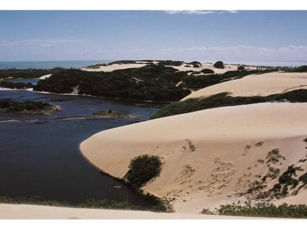 As dunas de RN estão entre as mais belas paisagens   - Crédito: Foto: Divulgação