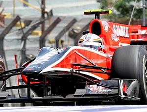 Timo Glock no GP do Brasil de F-1 - Crédito: Foto: Reuters