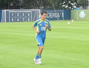 Cicinho foi elogiado por Felipão após a estreia  - Crédito: Foto: Julyana Travaglia / Globoesporte.com