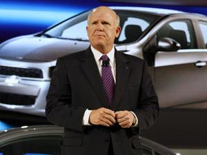 CEO da GM, Dan Akerson - Crédito: Foto: Reuters