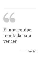 Com Falcão como astro, Santos apresenta seu supertime de futsal -